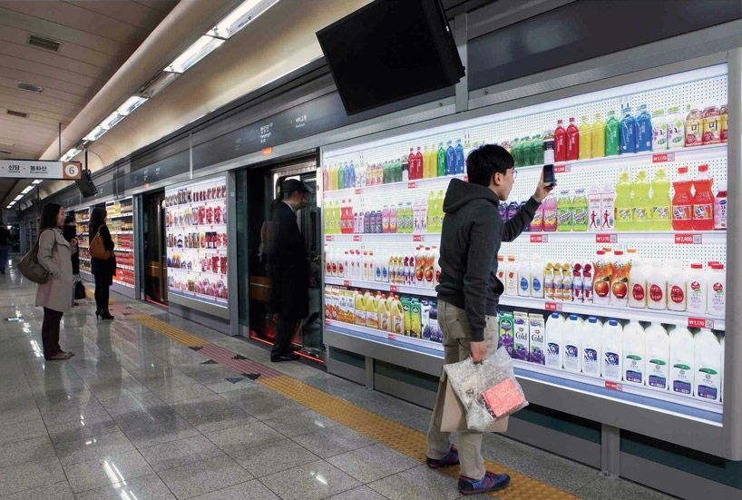Tesco Subway Store in Korea