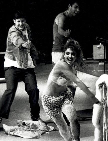 madonna and beastie boys (via Madonna&#039;s Facebook page)