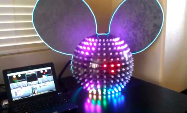 deadmau5 helmet screen capture