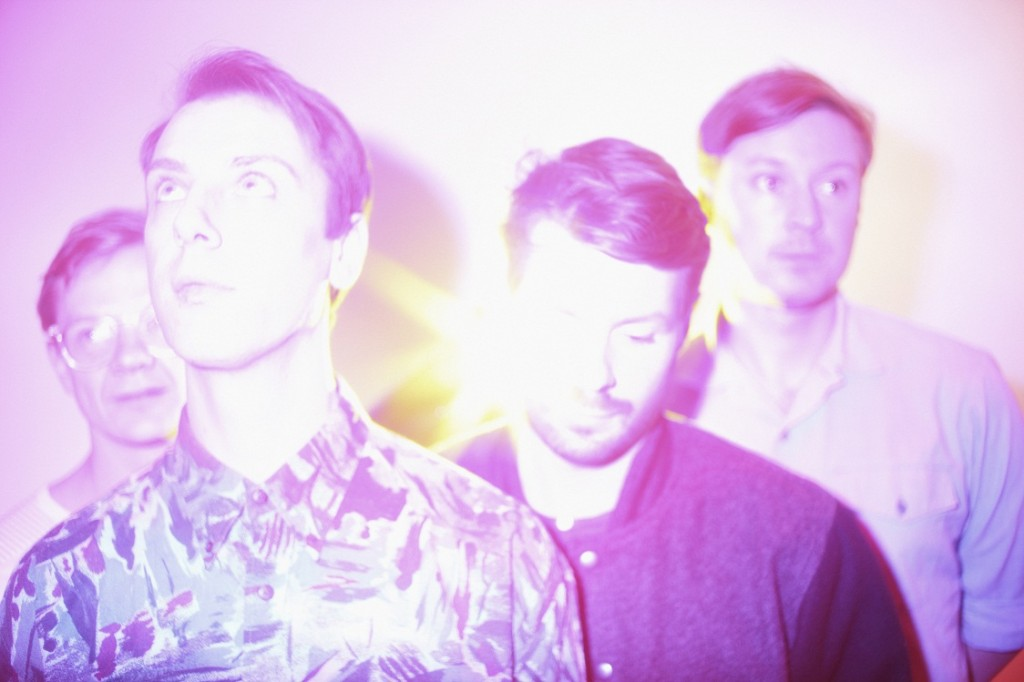 Django Django (credit: Warner Music Group Canada)