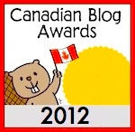 Canadian blog awards 2012