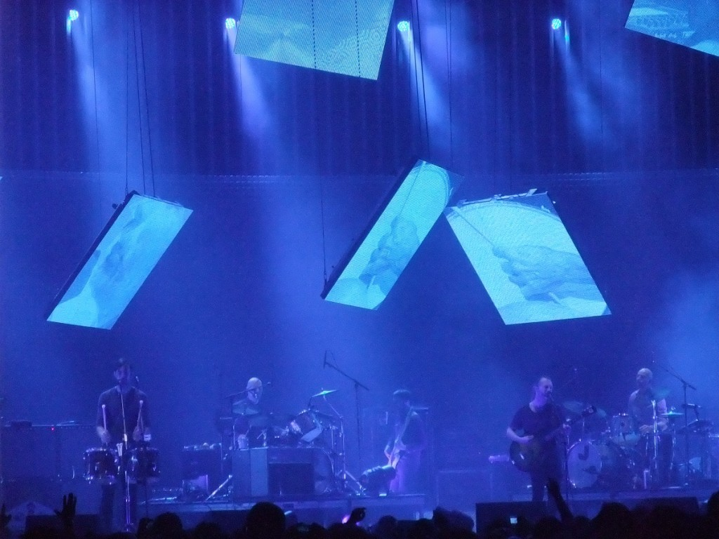 Radiohead live at The O2 Arena in London, England (copyright: PeteHatesMusic)