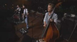 Video- Mumford and Sons on Austin City Limits - via PBS Screen Cap