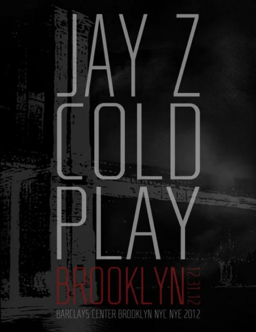jayz coldplay new years eve brooklyn