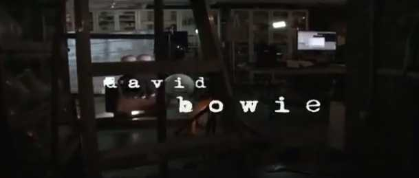 David Bowie - Where Are We Now - via Screen Cap