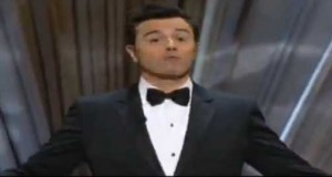 Seth MacFarlane - We Saw Your Boobs- The Oscars 2013 The 85th Academy Awards OSCARS 2013 - YouTube screen cap