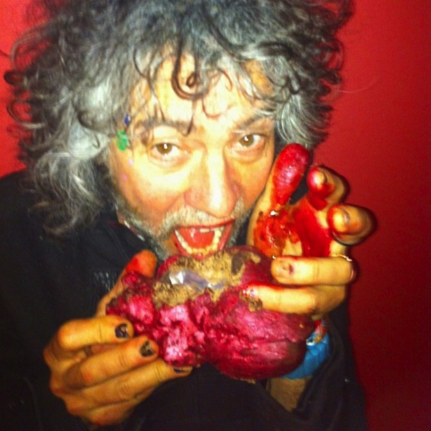 Wayne Coyne Chocolate Heart