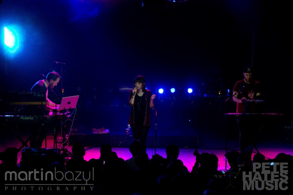 CHVRCHES - Mod Club (Copyright: PeteHatesMusic_/ Martin Bazyl Photography)